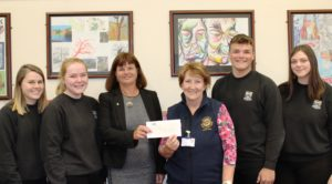2017-10-30 Silent Auction cheque handover